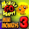 Monkey GO Happy Mini Monkeys 3 - PCゲーム